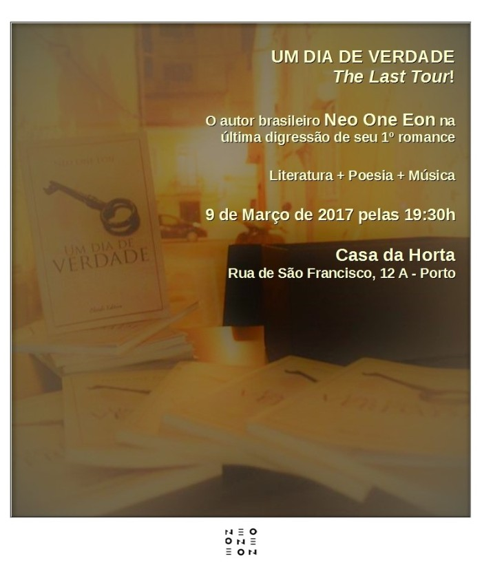 Flyer Last Tour - Casa da Horta