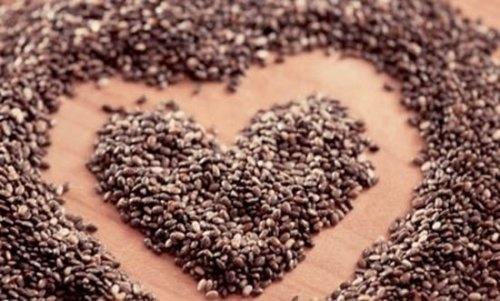 coração semente